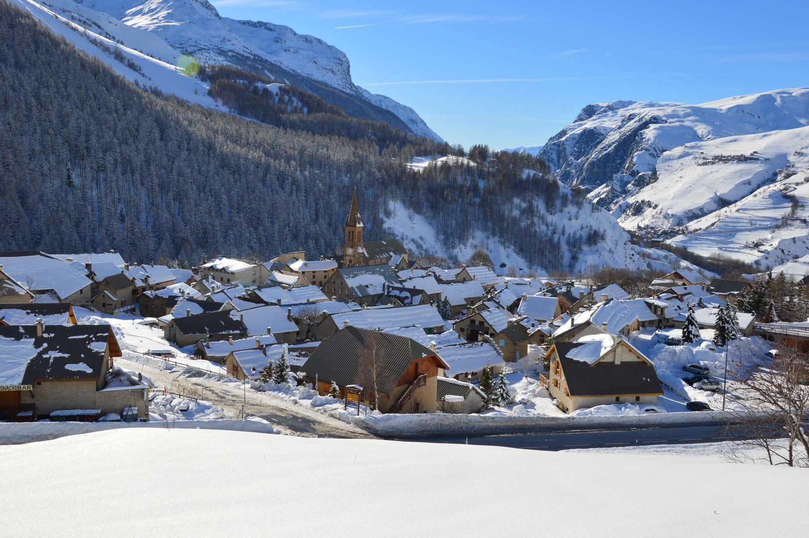 Villar d'Arène en hiver