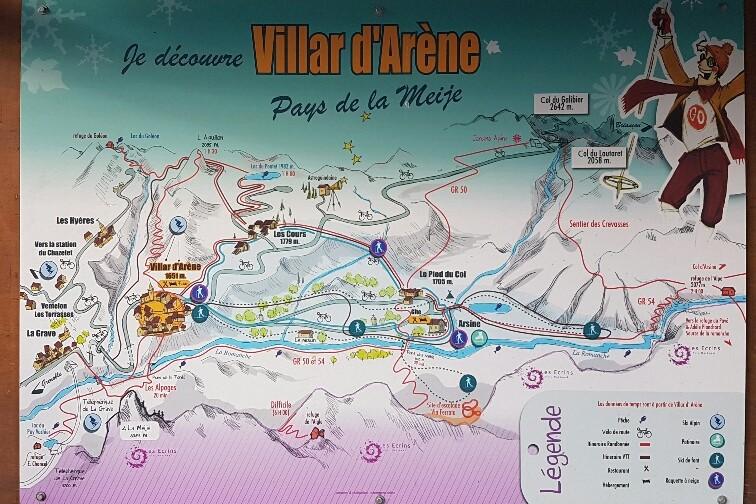Légende Ski de Villar d'Arène